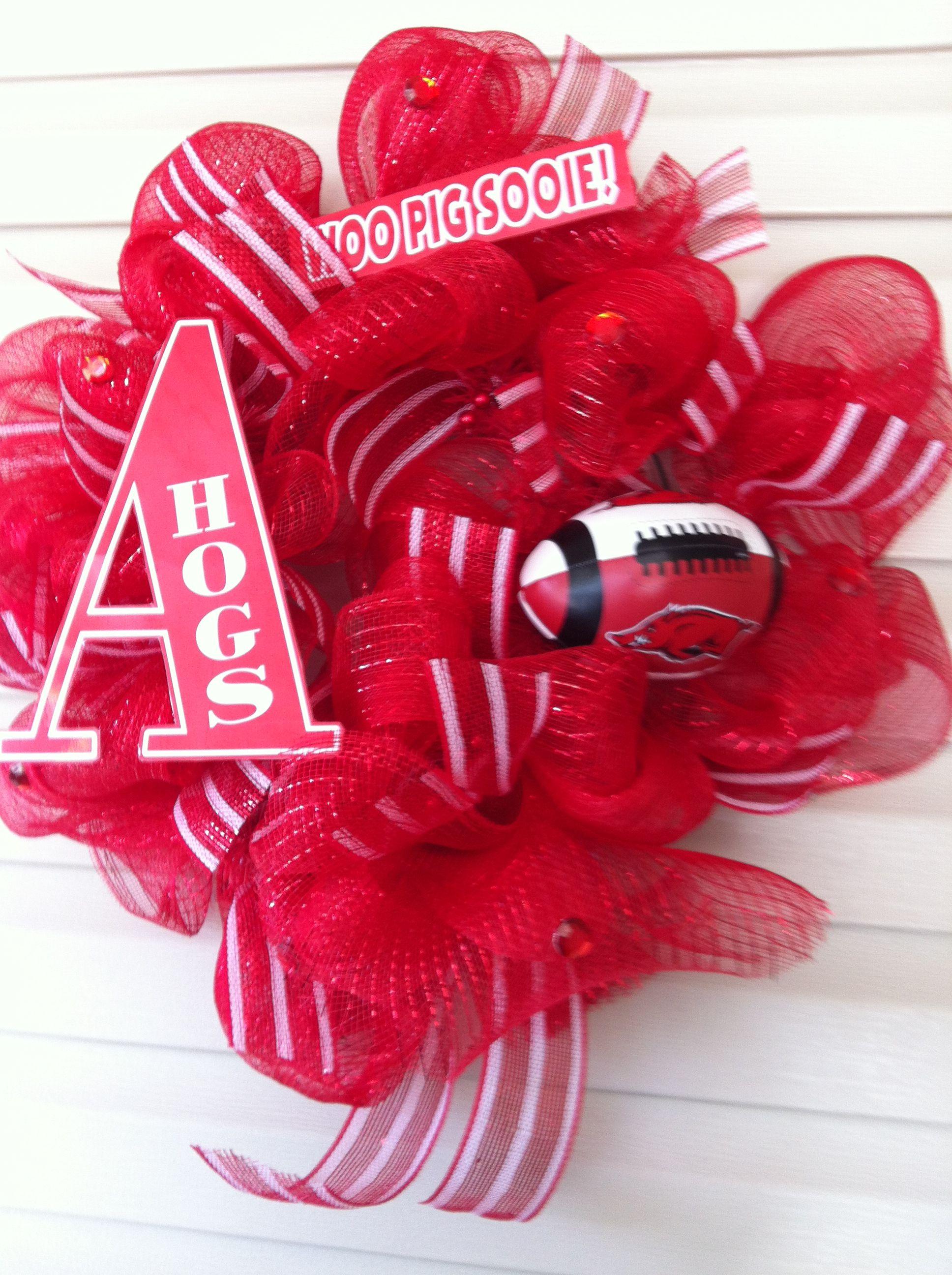 Football season is coming! Go Hogs!
