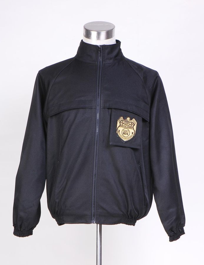 NCIS Staff Black Jacket Uniform Costume Cosplay in Standard Sizes