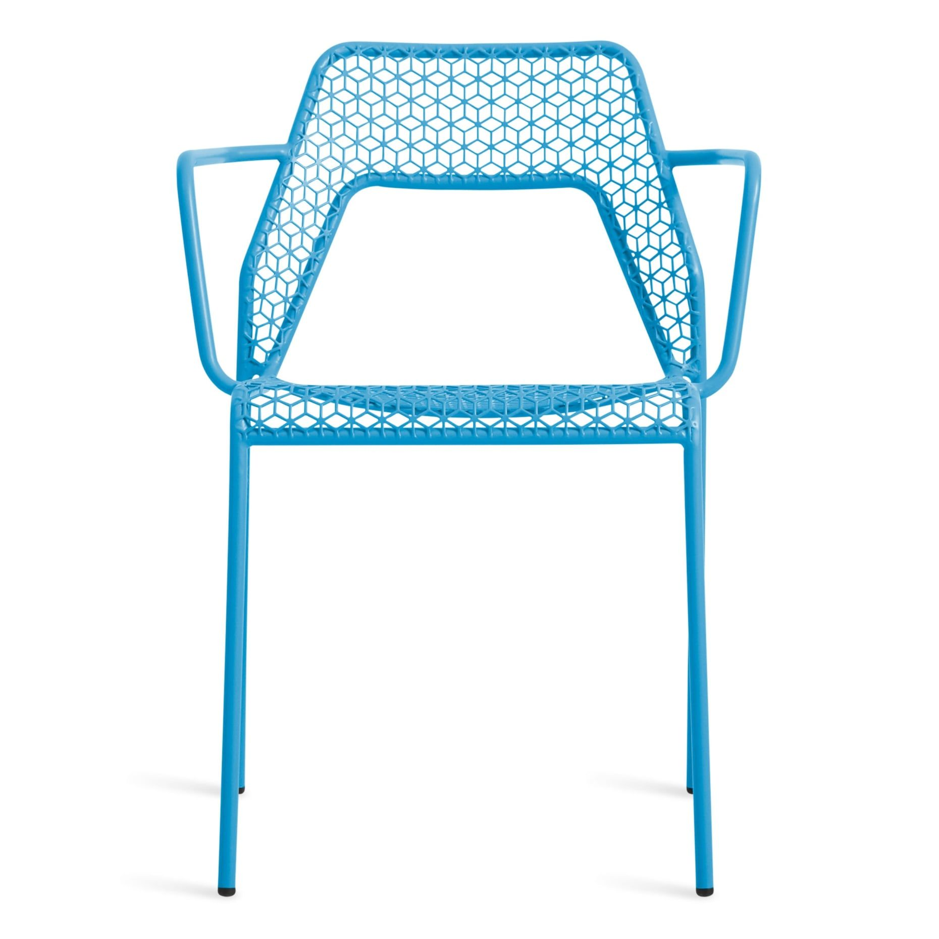 Hot Mesh Armchair Modern Outdoor Furniture Outdoor Armchair Patio Dining Chairs