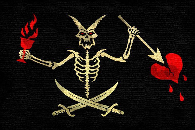 Blackbeard Flag Revised 10 Blackbeard Flag Pirate Flag Black Beard Pirate
