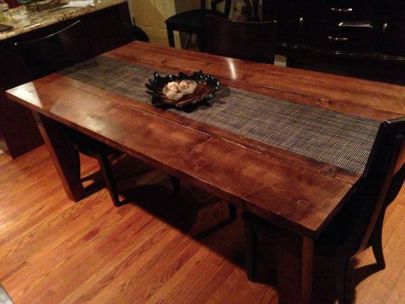 Dining Table Farmhouse dining room table, Dining room tables and