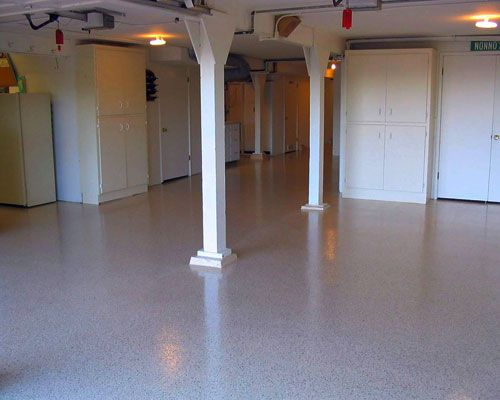 How To Prep Paint And Finish Your Cement Basement Floor