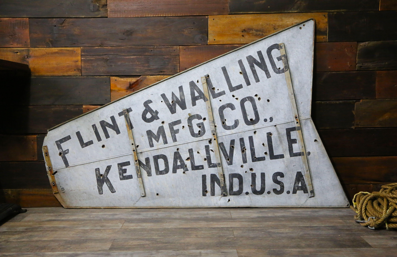 1920 S Flint Walling Mfg Co Star Windmill Tail Antique Etsy Walling Windmill Metal Windmill