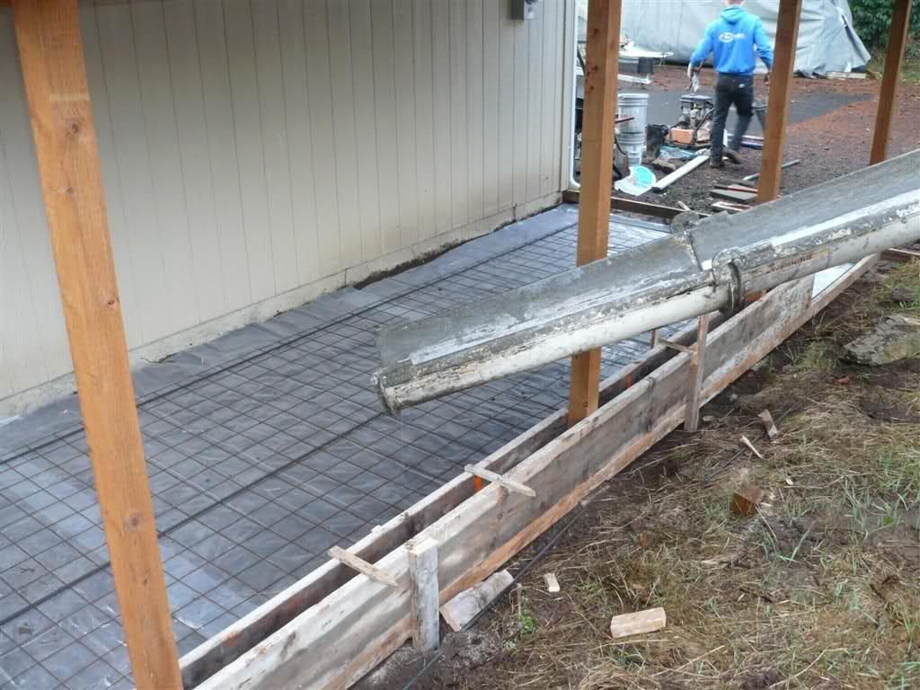 Lean to carport build The Garage Journal Board Lean to