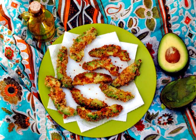 A Clove of Garlic, A Pinch of Salt: Sundays with Joy -- Avocado Fries