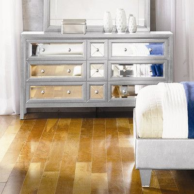 Najarian Furniture Reflections 9 Drawer Dresser | Wayfair