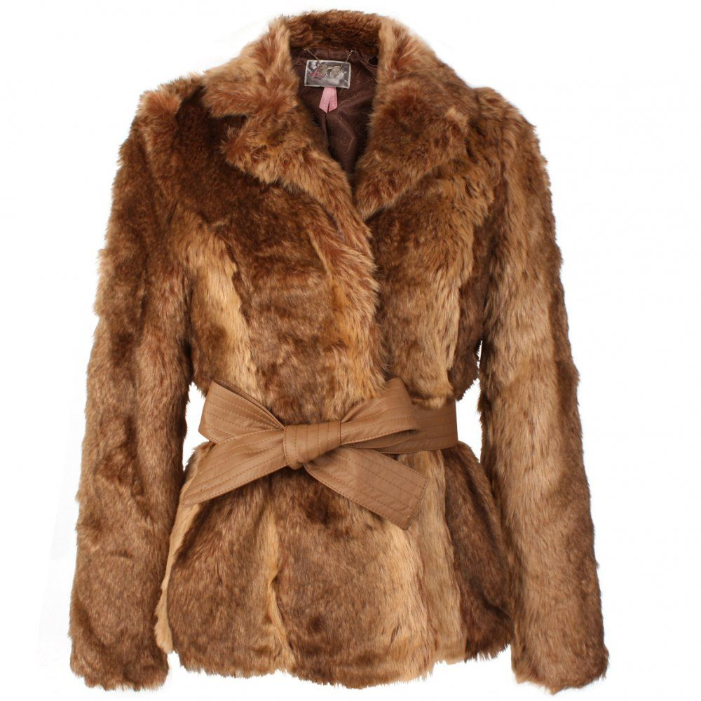 Real Fur Coats for Women | Womens › Jackets &amp Coats › Lipsy