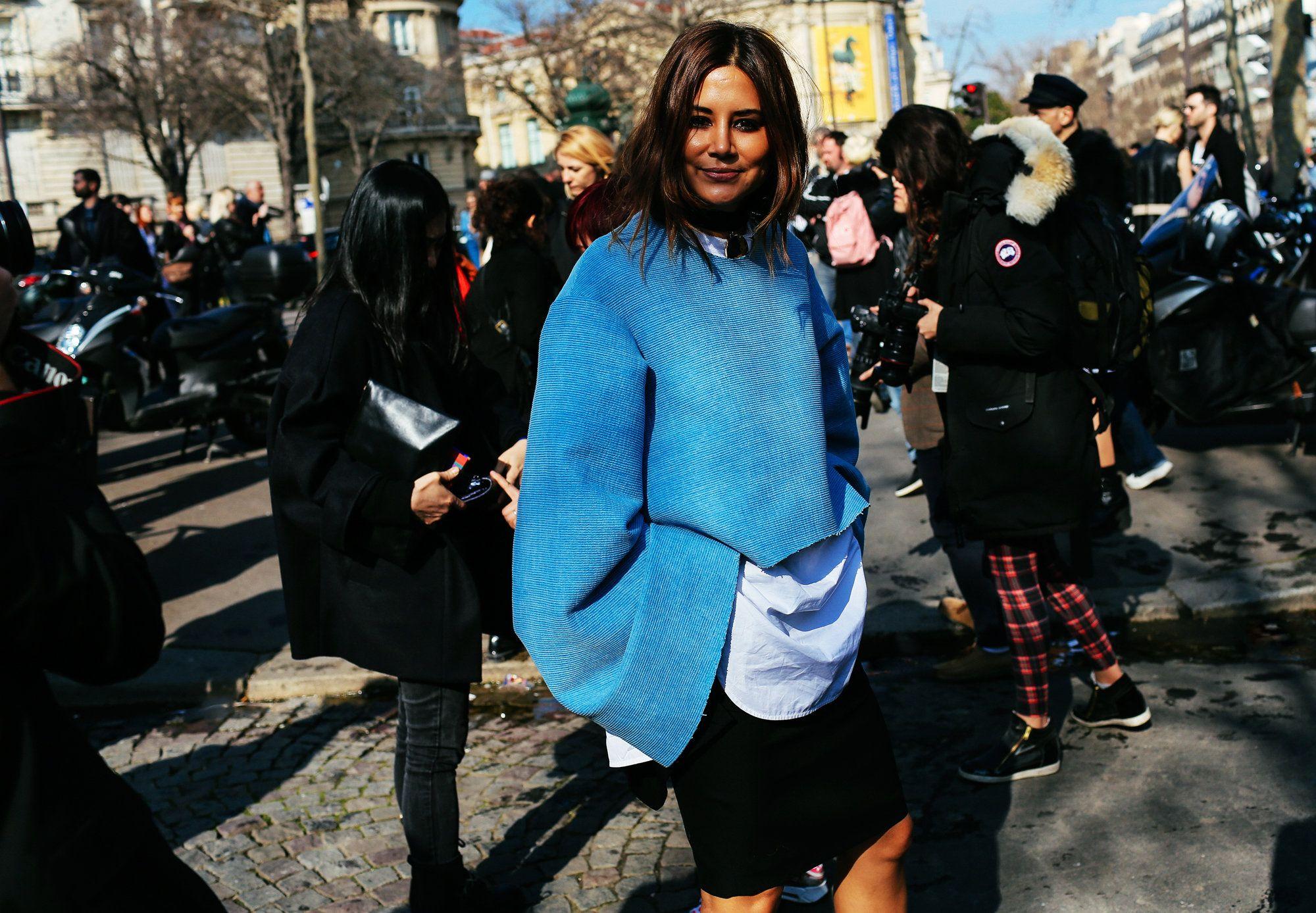 Street Style: Paris Fashion Week Fall 2015, Part 2 – Vogue #streetstyle #PFW #Fall2015 #fashionweek