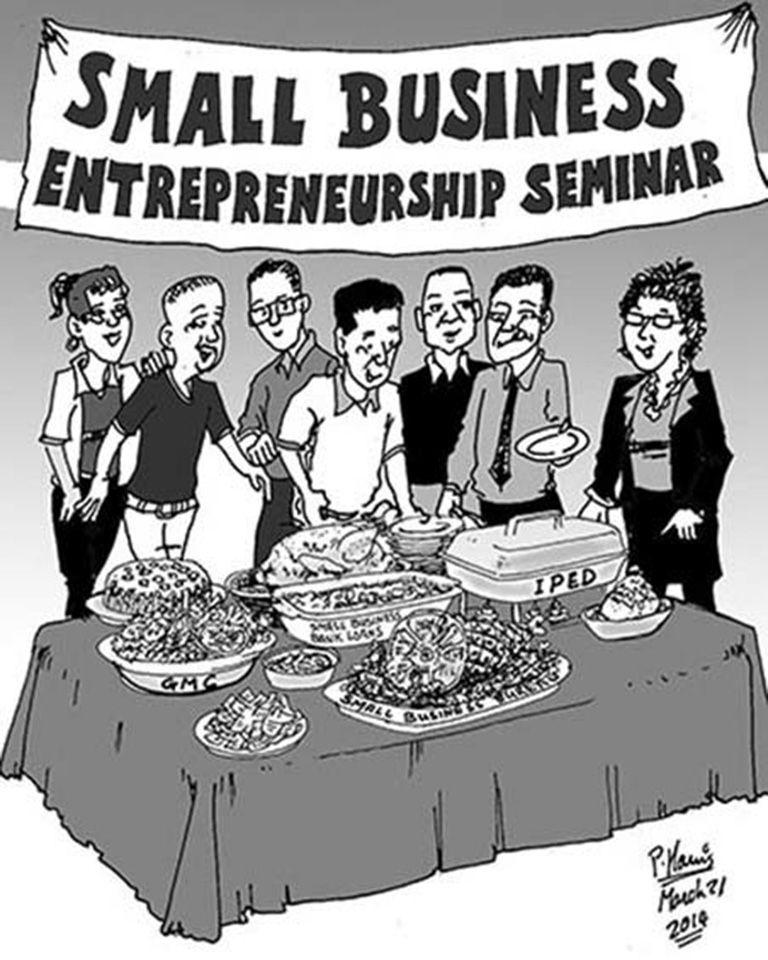 Business - Small business entrepreneurship seminar March 21, 2014