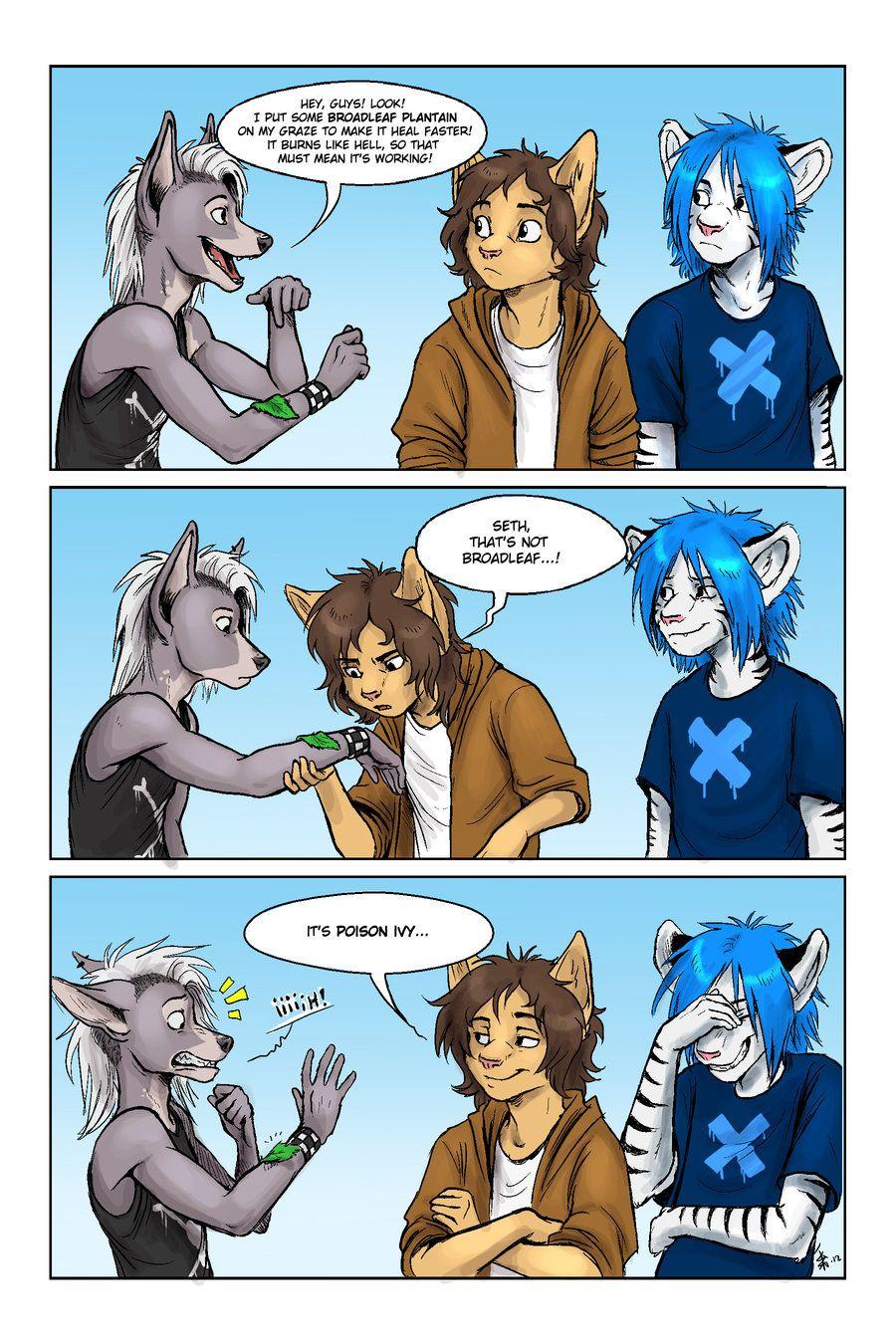 furry toon comics