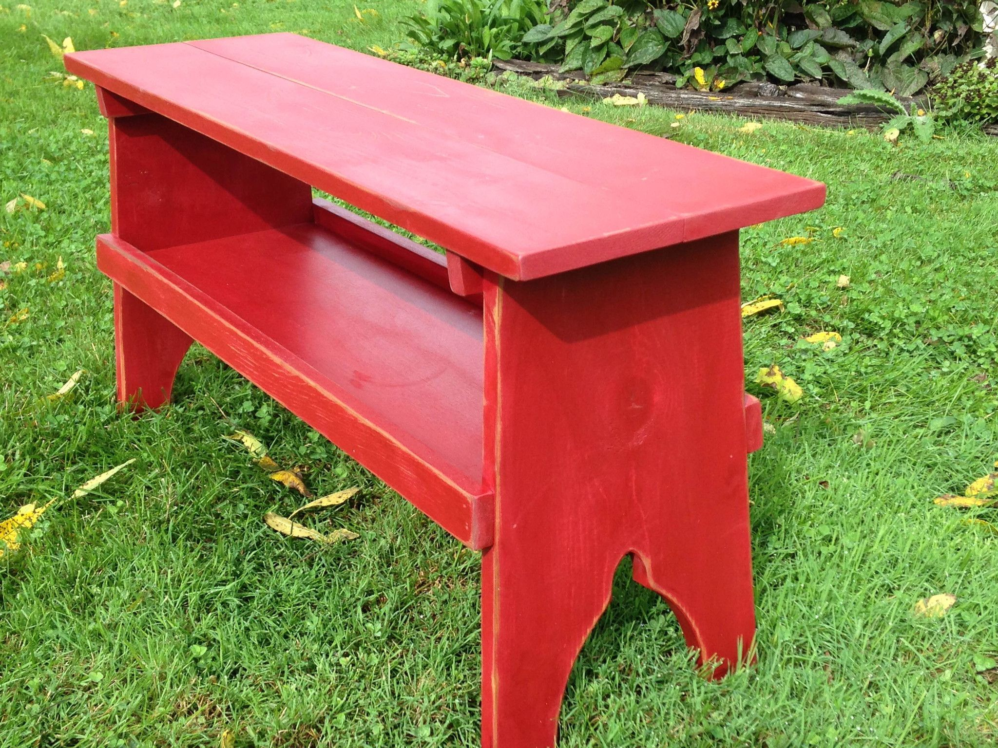The Hadley Bench | Barn wood projects, Wooden accent table ...
