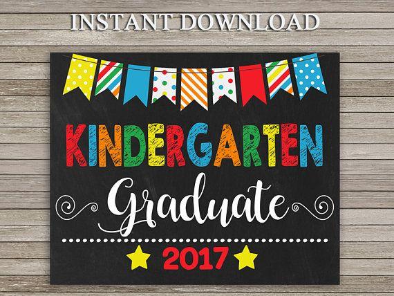 Jardín de infantes graduación muestra, jardín de la infancia pizarra ...