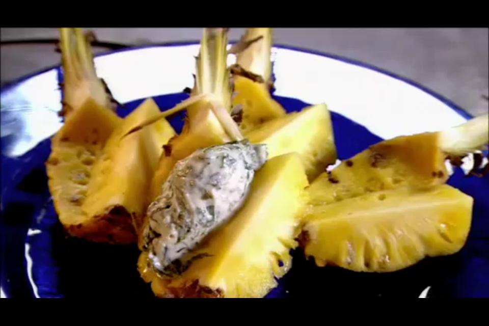 gordon ramsay s salt baked pineapple chef gordan ramsey