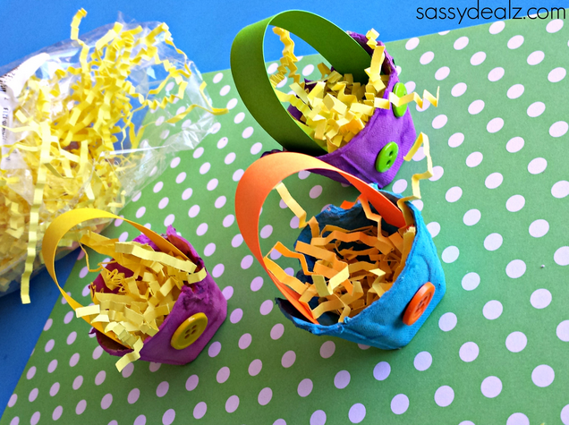 Egg carton easter basket craft for kids sassy dealz classroom egg carton easter basket craft for kids sassy dealz negle Choice Image