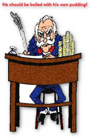 scrooge at his desk clipart theatrical stuff pinterest rh pinterest com scrooge clip art free Grinch Clip Art