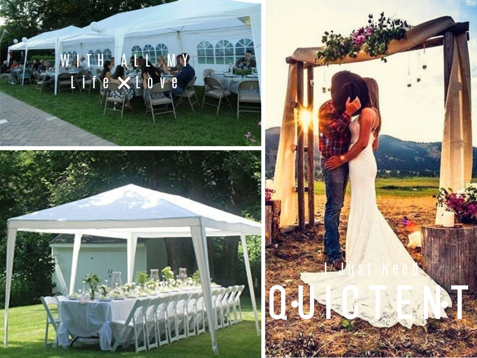 10 X30 White Party Tent With Images Party Tent Tent Wedding Party Planner