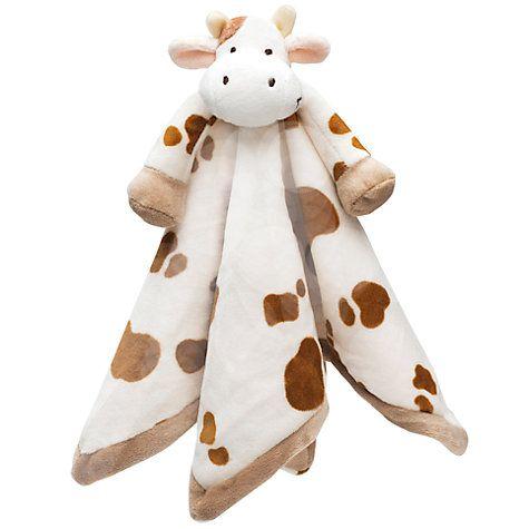 teddykompaniet cow baby comforter with images  baby