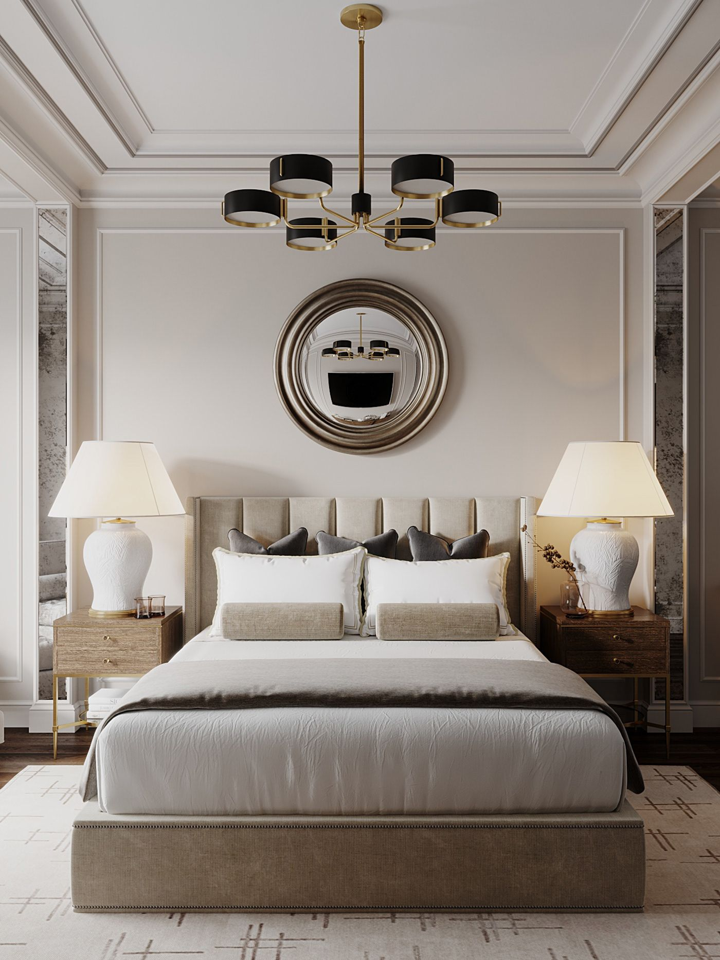 Luxury Hotel Bedrooms: I Present To Your Attention A Draft Of An Apartment In The