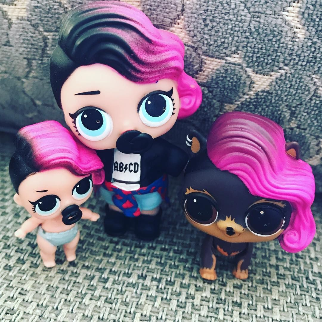 Happy Families For The Rockers Lol Dolls Doll Cookies Doll Family