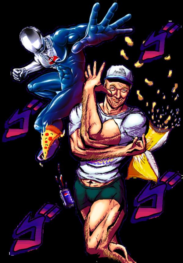 Pepsiman Pepsiman Adventure Meme Pepsi Man Jojo S Bizarre Adventure