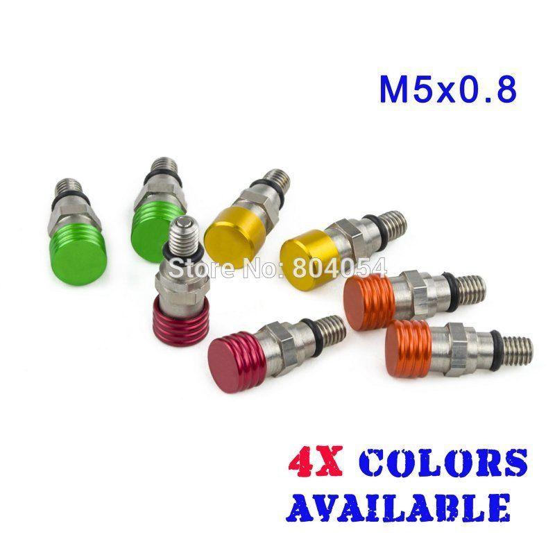M5x0 8 Fork Air Bleeder For Honda Cr80 85 125 250 Crf150r Crf250r Crf250x Crf450r Crf450x Motorcycle Wheels Honda Cr Motorcycle Accessories