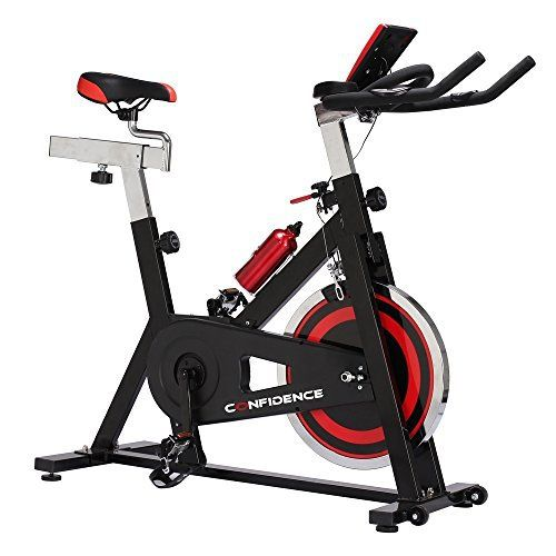 Confidence S3000 Indoor Cycling Exercise Bike W 18kg Flywheel