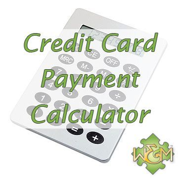 credit card payment calculator how many months to pay off the - credit card payment calculator