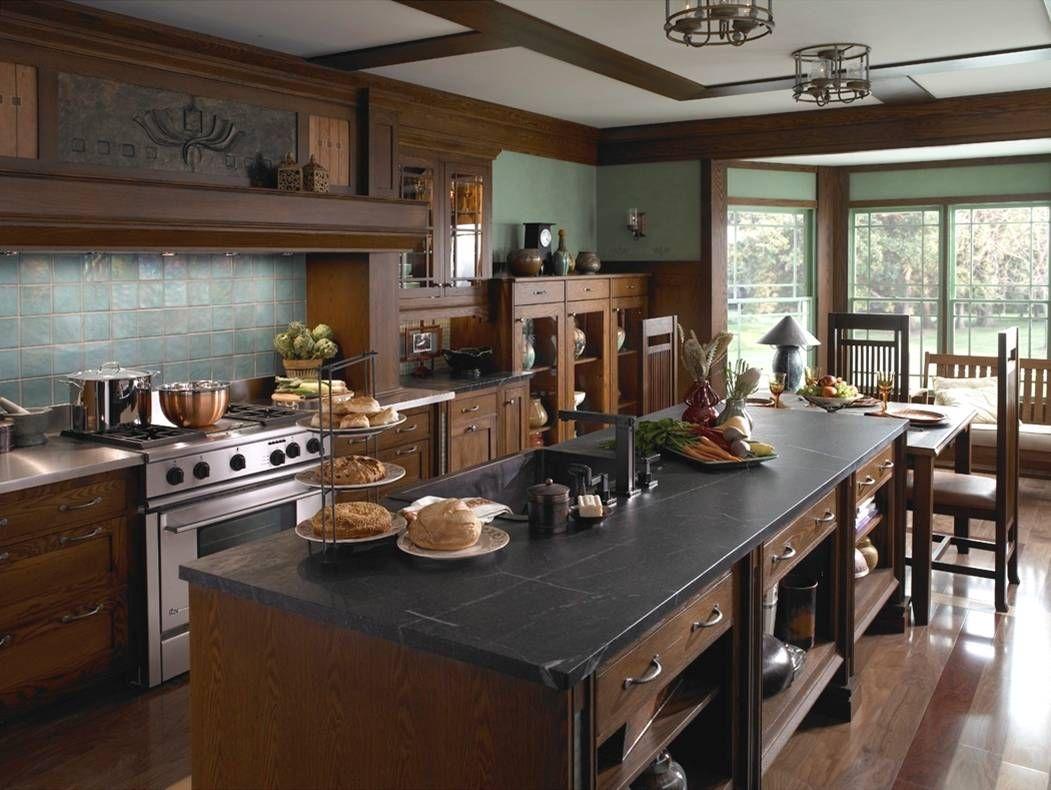 Kitchen Remodelling Craftsman Style House Interior Design Ideas