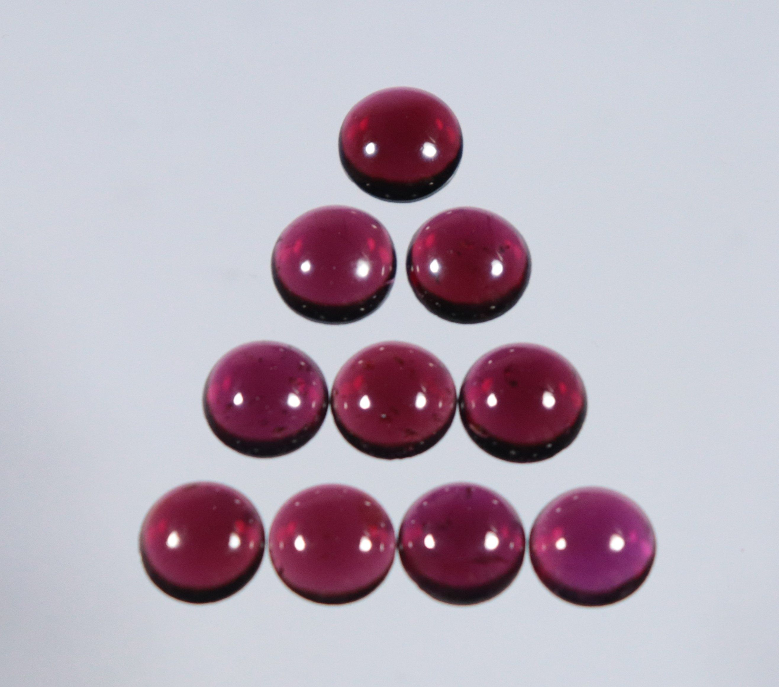 Oval Pear Cushion Round Cabochon Smooth Flat Bottom Jewelry Making Loose Gemstone 6x4 mm To 25x18 mm Red Onyx 4 mm To 20 mm