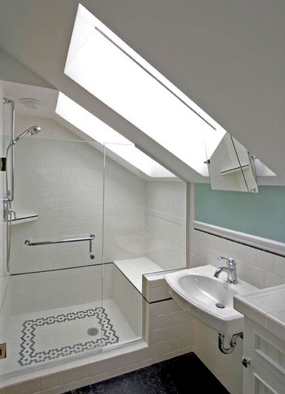 30 Tiny House Bathroom Design Inspirations 5b55f3a63e1da Small Attic Bathroom Tiny House Bathroom House Bathroom Designs