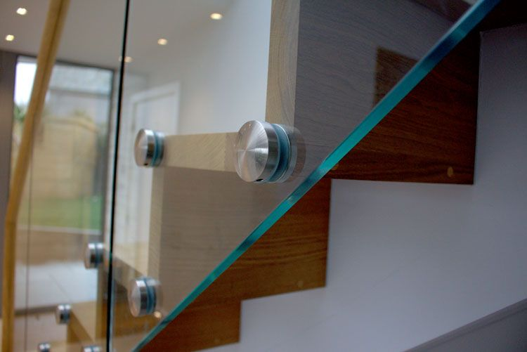Best Timber Glass Staircase Glass Stairs Glass Balustrade 640 x 480