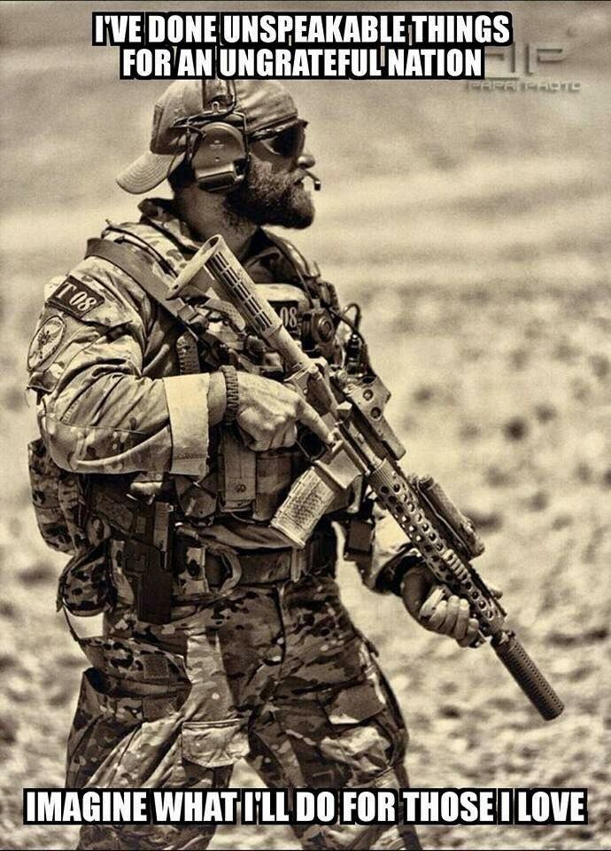 Ranger Special Forces Quotes aegisgears Special Forces Loadout Adorable Military Quotes