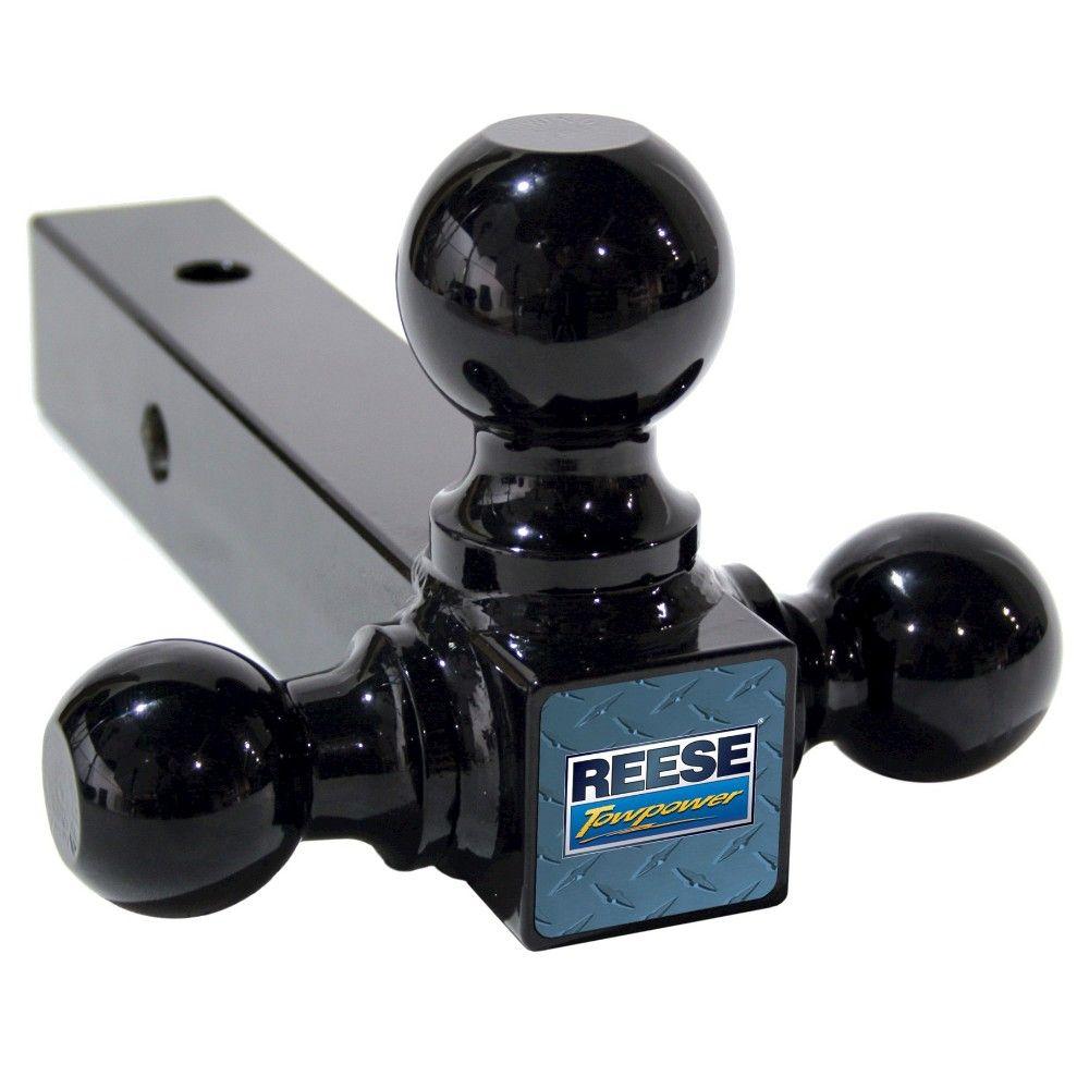 Reese Tri-Ball Draw Bar, Black
