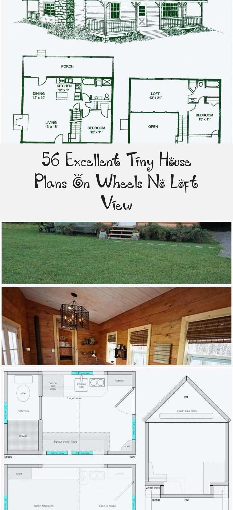 Tiny House Plans No Loft Awesome 56 Excellent Tiny House Plans Wheels No Loft View Small House Open Floor Plan House Plans Tiny House Plans