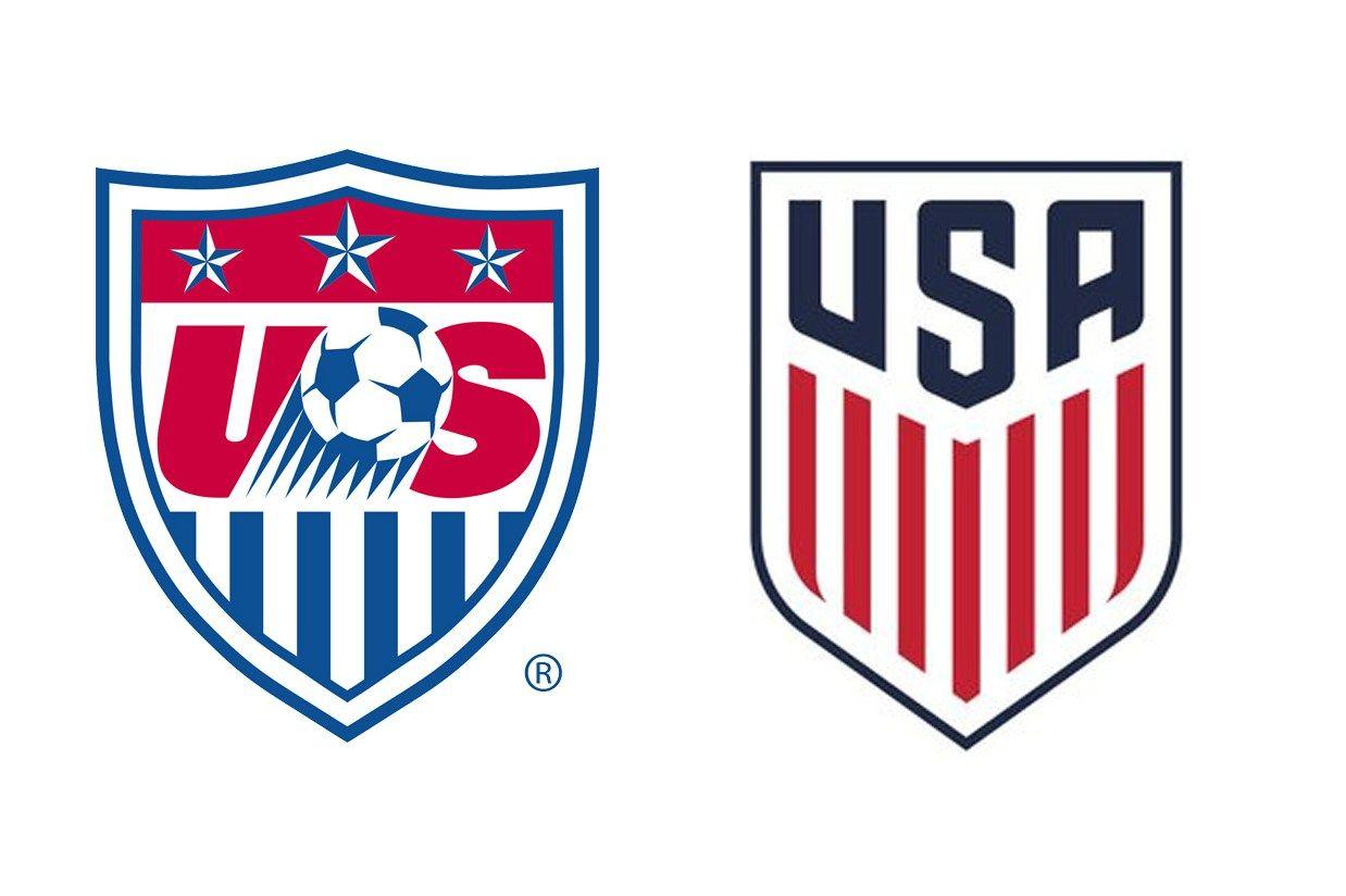 The U S National Soccer Team Has A New Crest Us Soccer Soccer Logo Logo Design Inspiration Sports