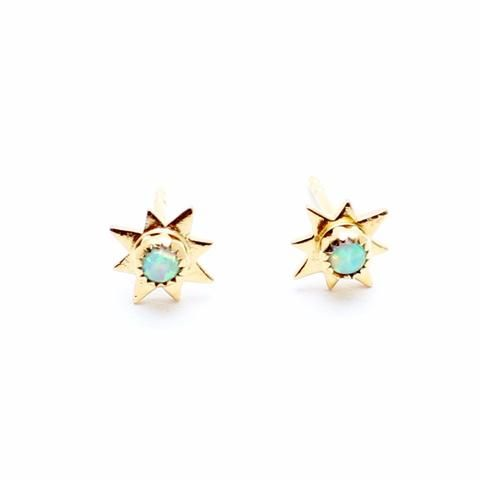 Opal Starburst Studs - Child of Wild - 1
