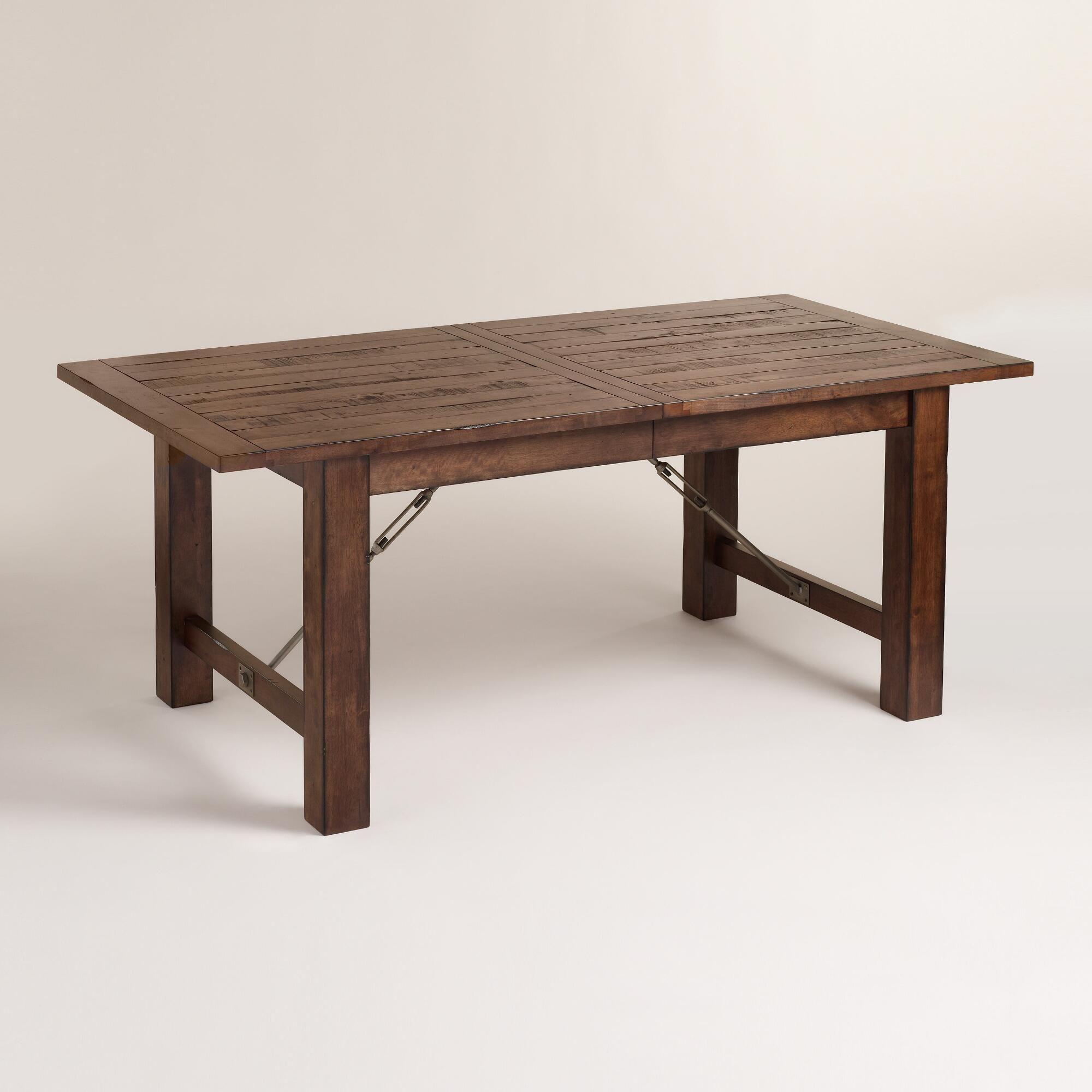 59999 Wood Garner Extension Dining Table