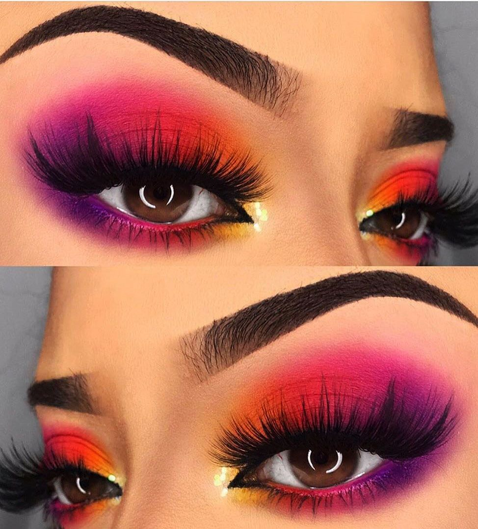 28 Colorful Eye Makeup ideas For Summer Season - Page 28 of 29 - Womens ideas