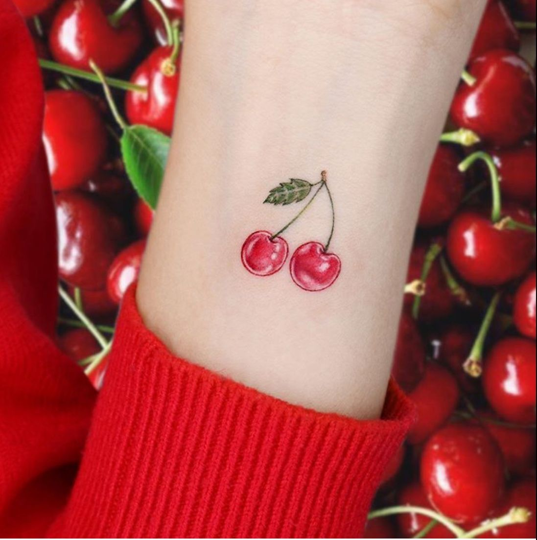 50 Best Fruit Tattoo Designs The Xo Factor In 2020 Fruit Tattoo Cherry Tattoos Tattoos