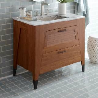 Check Out The Native Trails Vns362 Trinidad 36 Vanity In Woven Strand Bathroom Vanities Without Tops Bamboo Bathroom 36 Vanity
