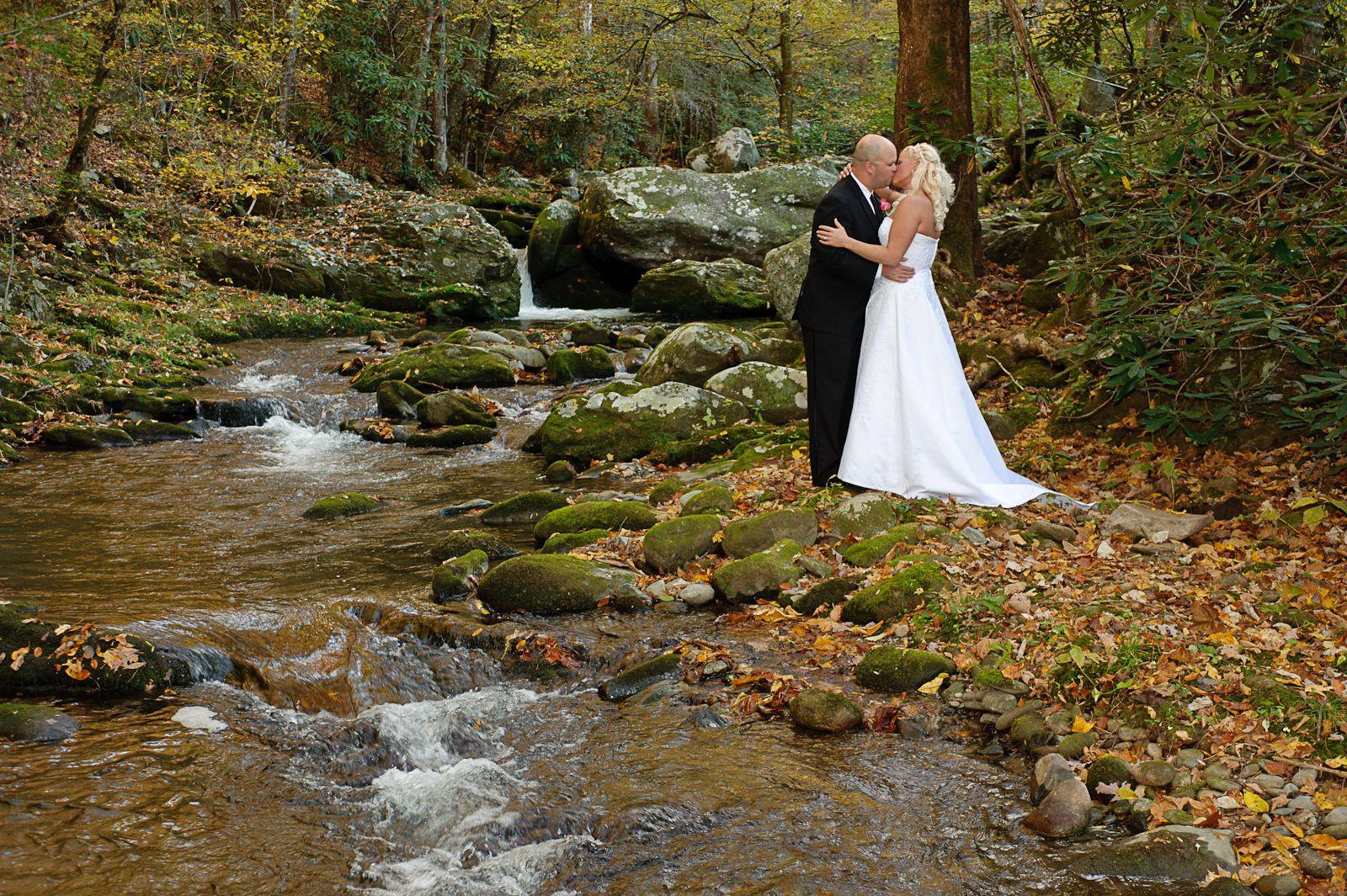 Mountain View Wedding Near Gatlinburg TN