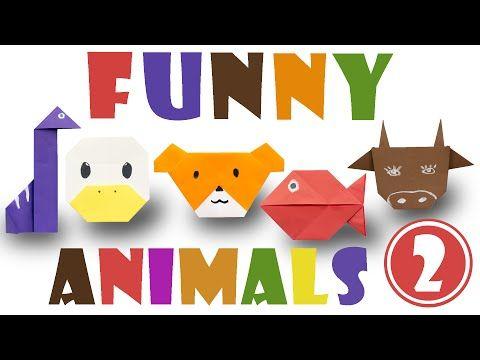 Top 5 Easy Origami Animals 2