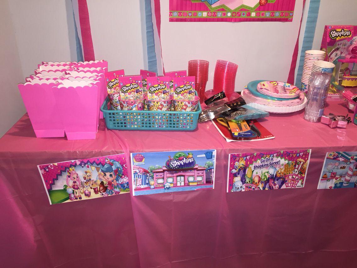 Diy Shopkins Birthday Party Decoration Ideas Shopkins Birthday Party Shopkins Birthday Party Decoration Shopkins Birthday