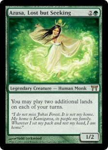 Azusa Lost But Seeking Champions Of Kamigawa Modern Legal Cards Magic The Gathering Magic The Gathering Magic The Gathering Cards The Gathering