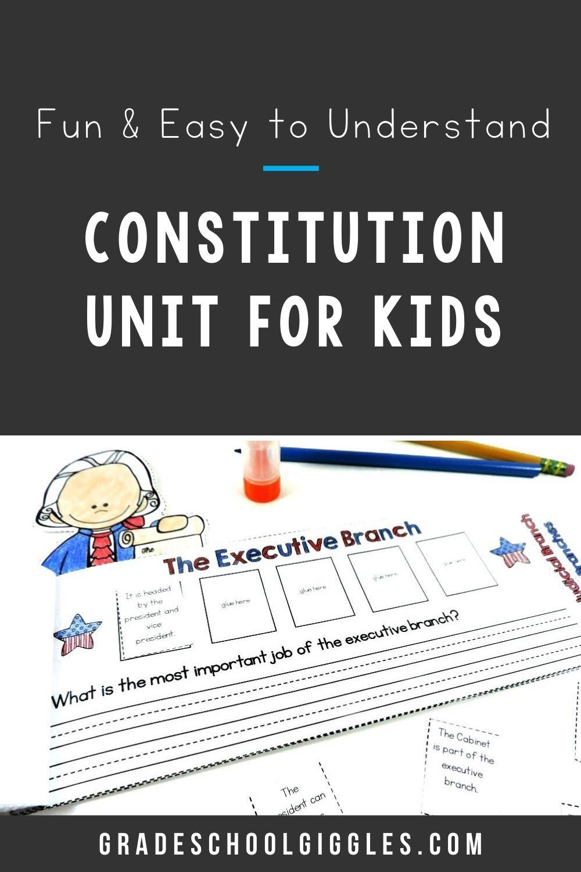 Us Constitution Unit Third Grade Activities Social Studies Elementary Classroom Activities [ 1500 x 1000 Pixel ]