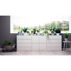 Photo of Sideboard Weiß – Sideboard: Schubladen in Weiß & Türen in Weiß – Hochwertige Materialien – 226 x 80