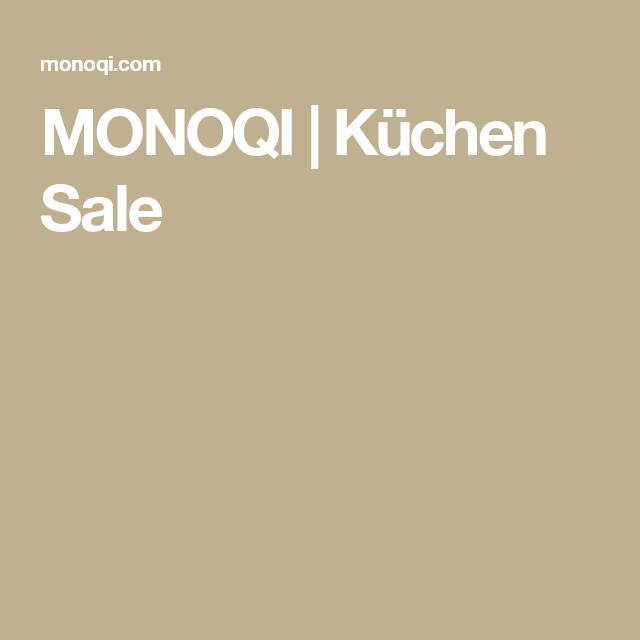 Luxury MONOQI K chen Sale