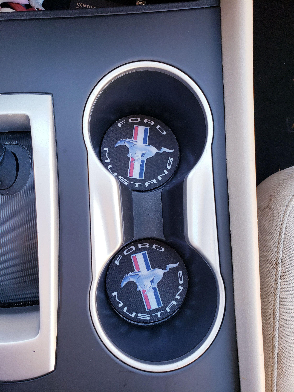 Ford, Mustang, Car Accessories, Car Decor, Car Coasters,Coaster