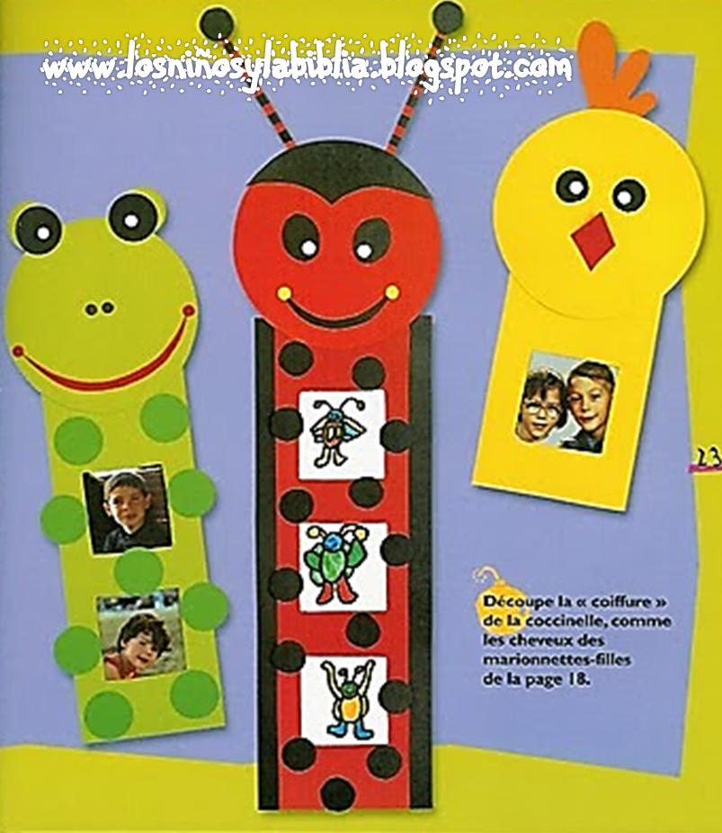 Los ni os y la biblia manualidades pre escolares - Manualidades para ninos faciles y divertidas ...