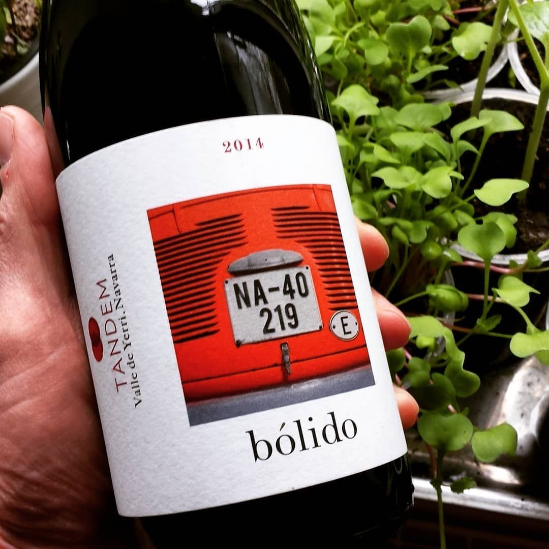 Bolido In Lithuanian Means Car In Spanish Fireball Very Interesting Tasting Wine Redwine Spain Navarra Concretevat Oak Tempranillo Merlot Cabsauv
